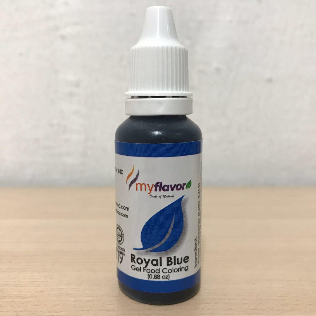 Royal Blue Gel Food Colouring