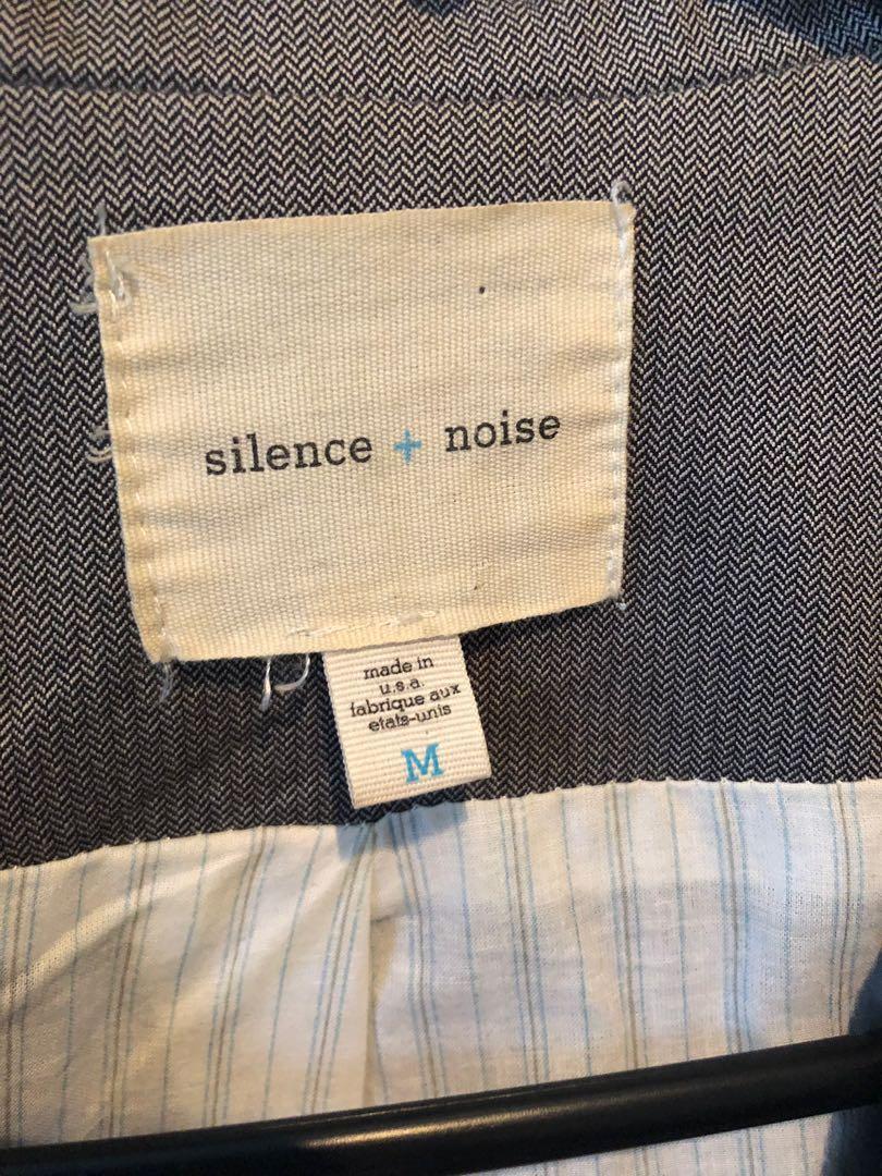 Silent + noise blazer
