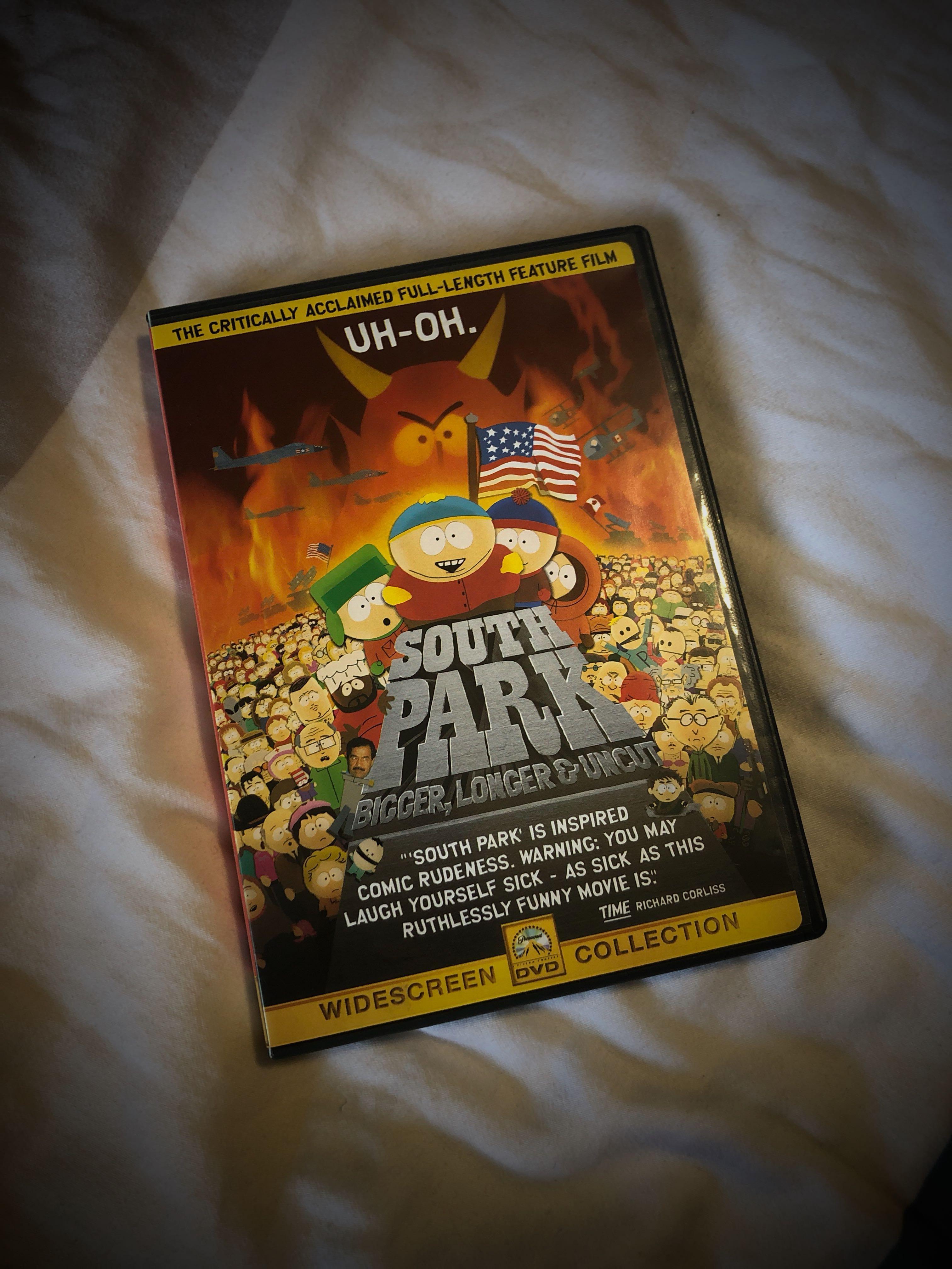 South Park Bigger Longer Uncut Dvd Plus 180 More Titles Music