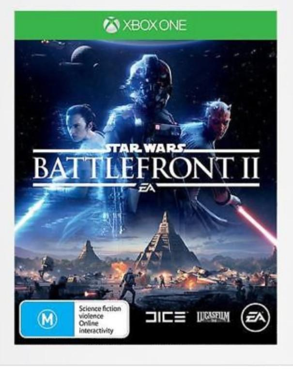 Star Wars Battlefront II Two 2 EA games Xbox One Used
