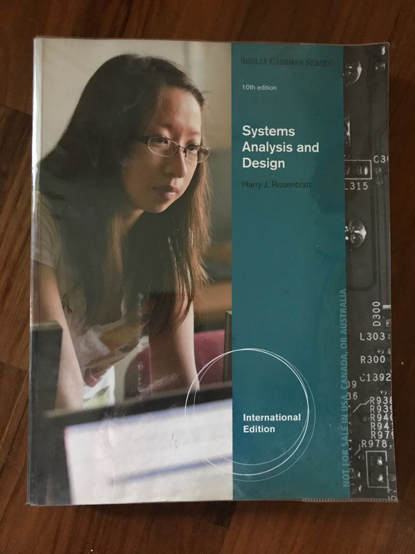 Systems Analysis And Design 10th Edition Books Stationery Textbooks Professional Studies On Carousell