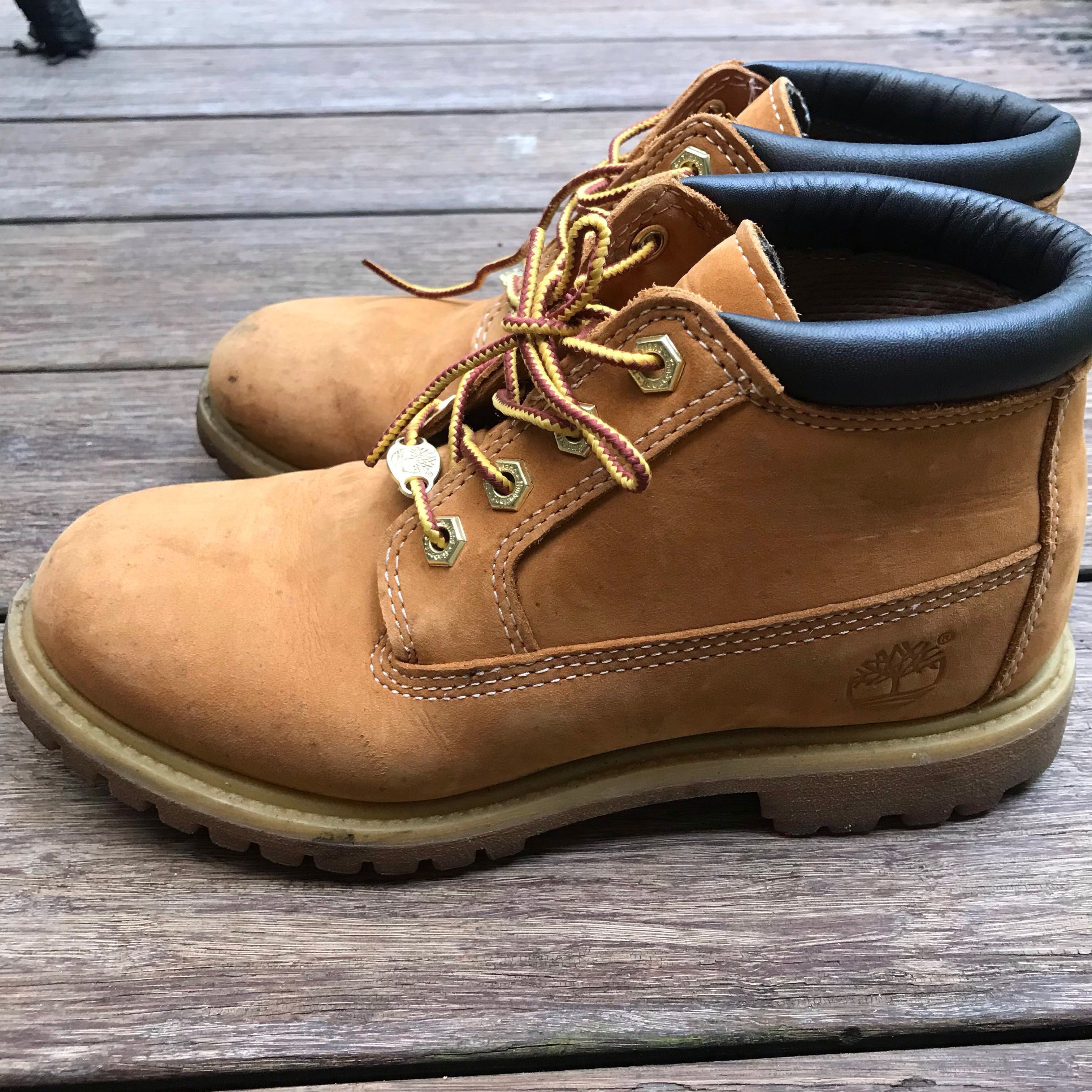 5826a15504da8 Timberland Boots, Women's Fashion, Shoes, Boots on Carousell