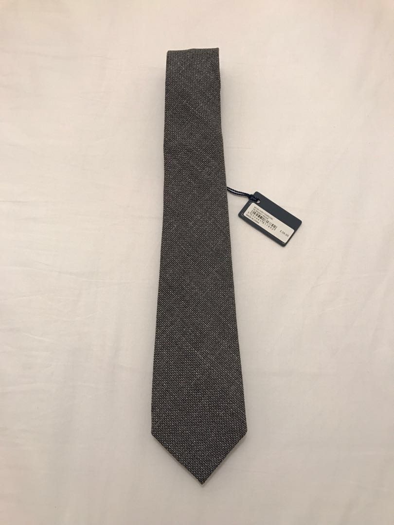9f02b40e577a TM Lewin wool blend slim tie BNWT, Men's Fashion, Accessories, Ties ...