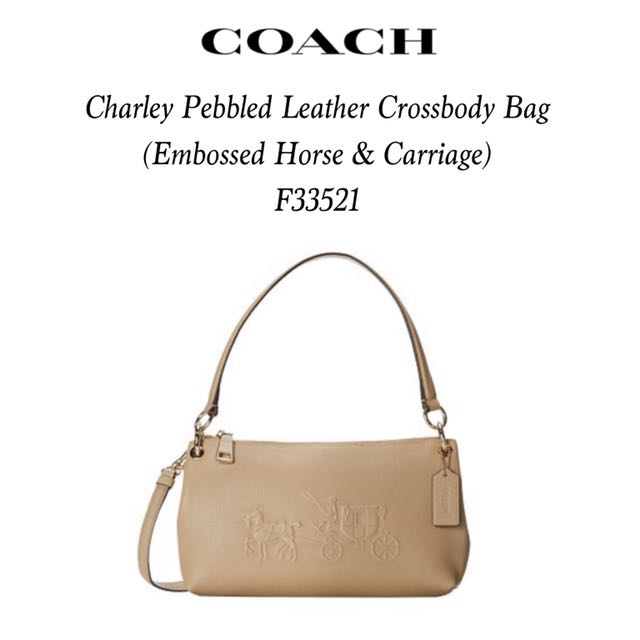 b9b8c0da1057 Unused Coach Charley Crossbody Bag
