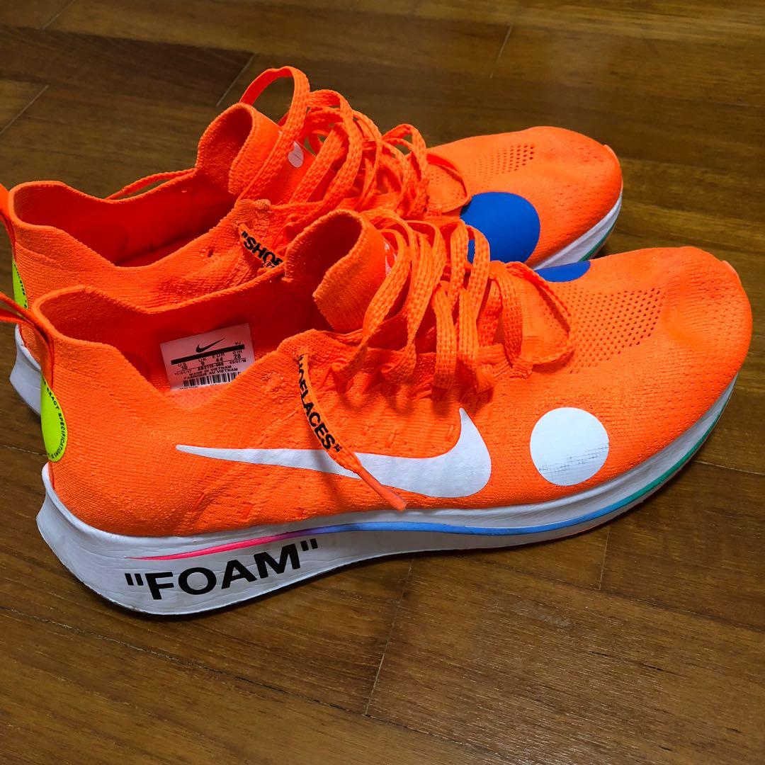 ca4e68b7f494 USED) Nike OffWhite ZoomFly UK9