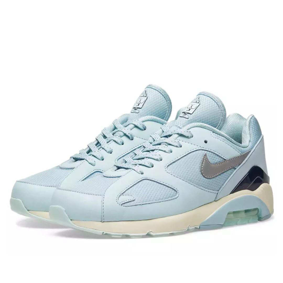 Women Nike Air Max 180 Ocean Bliss Metallic Silver Women S
