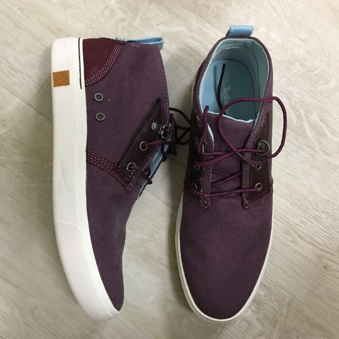 complicaciones peine banda  Women Timberland Amherst Canvas Chukka Shoes, Women's Fashion, Shoes,  Sneakers on Carousell