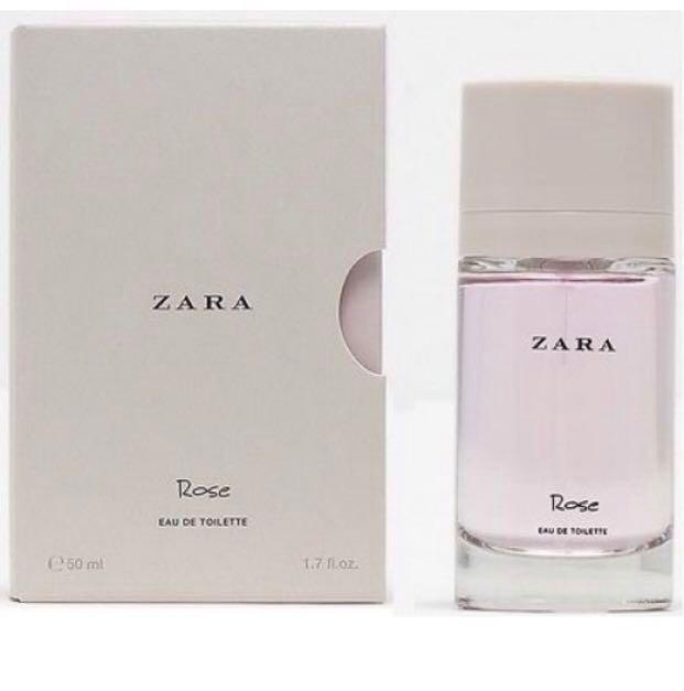 Zara Rose Eau De Toilette 50ml Health Beauty Perfumes