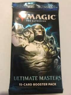 Magic the gathering ultimate master 15 card booster packs