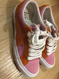 Converse on star x Golf le Fleur crossover 休閒鞋