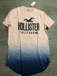 Hollister Pink S Men Tee