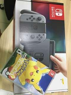 Nintendo Switch + Pokemon game