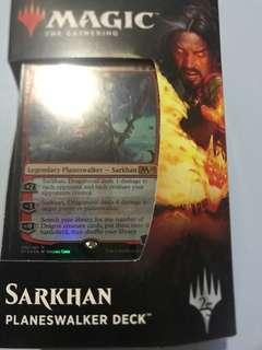 Magic the gathering  sarkhan planeswalker deck