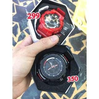 🚚 sale🥰🥺claw machine(brand new)cold light watch 娃娃機出貨 全新未使用 g-shock casio 運動款冷光/夜光手錶⌚️