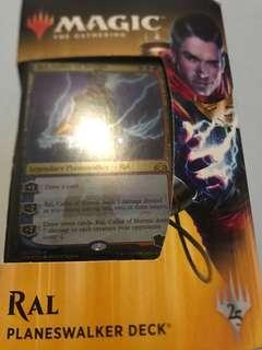 Magic the gathering ral planeswalker deck