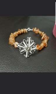 DIY All 925 Silver Crystal Bracelet
