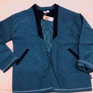 Japanese Kimono Jacket -S size Navy