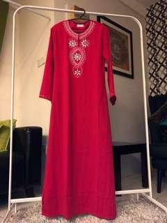 Pink Jubah/Dress
