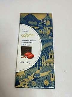 Dark Chocolate Whittaker's from New Zealand