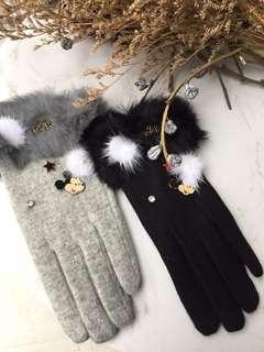 🚚 韓國超質感MK羊毛手套