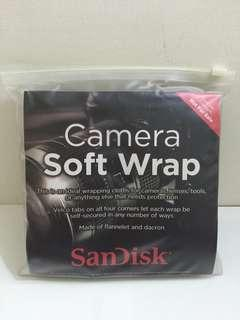 Sandisk Camera Soft Wrap 相機 鏡頭 包布 包巾