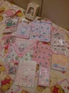 包順豐站/智能櫃運費 兔仔迷切勿錯過 11件 日本 sanrio cheery chums精品套裝