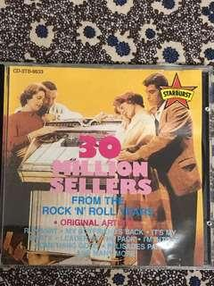 30 Million Sellers From The Rock 'N' Roll Years