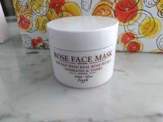 *NEW* FRESH Rose Mask 30ml NO BOX