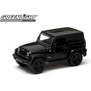 🚚 Jeep Wrangler 1:64 Black Bandit Edition