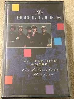 THE HOLLIES. THE DEFINITIVE COLLECTION. All the hits & more. 1988 36 TRACK DOUBLE AUDIO CASSETTE TAPE