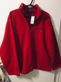 NEW Ralph lauren polo fleece zip up turtleneck