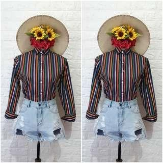 Polo blouse / office attire