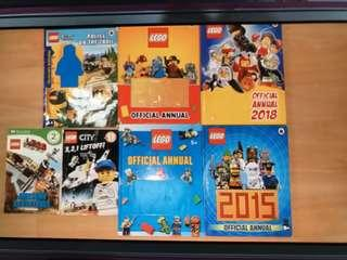 Lego annuals and storybook