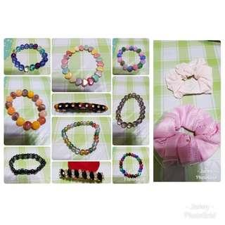 All $20 Bracelet and Hair Accessories