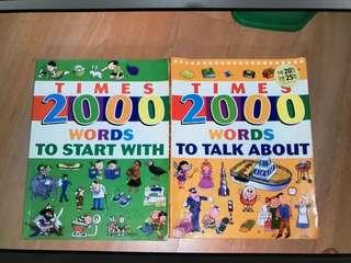 Times 2000 words and Picture dictionary