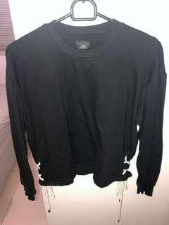 Black Sweatshirt fit to L