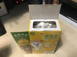 Line friends Cony 兔兔 限量版套裝