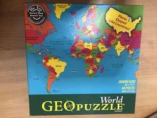 Geo puzzle 68 pcs