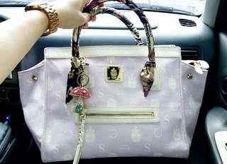 St.Scott Lilac Handbag