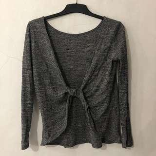 H&M Divided Twisted Top