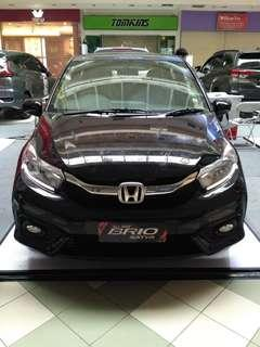 All new Honda Brio Satya E spesial akhir tahun