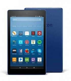 "Fire HD 8 Tablet with Alexa, 8"" HD Display, 16 GB, Blue"