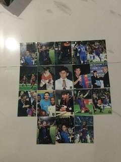 Lionel Messi cards
