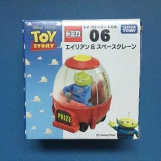 🎄聖誕之選_$56🎄 Toy Story 三眼仔連夾公仔車模型 (送迪士尼貼紙)