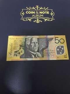 澳幣50元