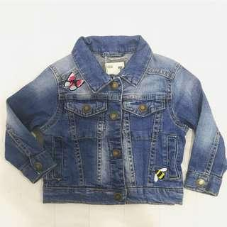 CottonOn Kids Embroidered Denim Jacket