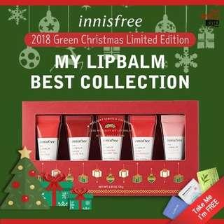 INNISFREE Holiday Edition [My Lipbalm Best Collection 5ml]