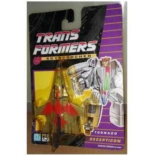 絕版 1992年 Hasbro TRANSFORMERS 變形金剛 紅銀色戰機 figure 1款