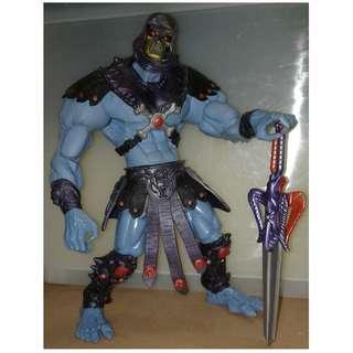 絕版 二手 MASTERS of the UNIVERSE 200X He Man MOTU Skeletor 12吋 骷髏魔 action figure 1款