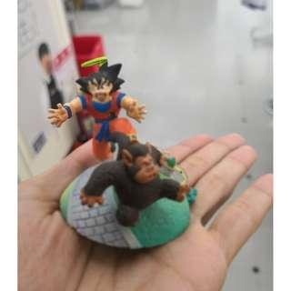 Goku and Monkey